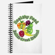 Healthy Food Builds Great Brains! Journal