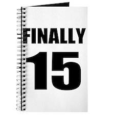 15th Birthday Humor Journal