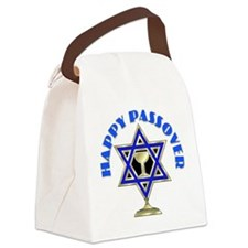 Jewish Star Passover Canvas Lunch Bag