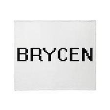 Brycen Digital Name Design Throw Blanket