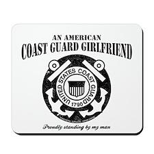 American Coastie Girlfriend Mousepad