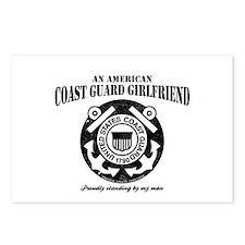 American Coastie Girlfriend Postcards (Package of