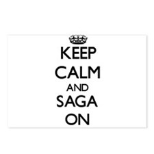 Keep Calm and Saga ON Postcards (Package of 8)