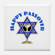 Jewish Star Passover Tile Coaster