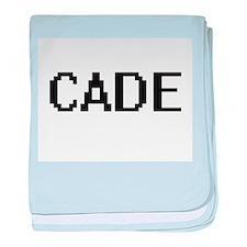 Cade Digital Name Design baby blanket