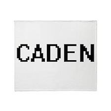 Caden Digital Name Design Throw Blanket