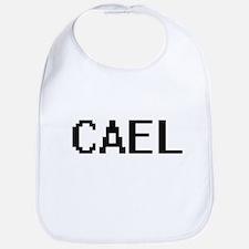Cael Digital Name Design Bib