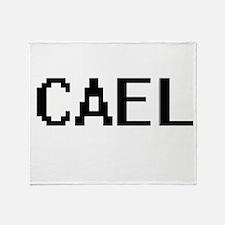 Cael Digital Name Design Throw Blanket