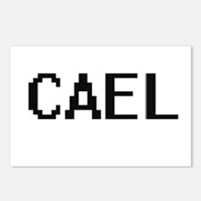 Cael Digital Name Design Postcards (Package of 8)