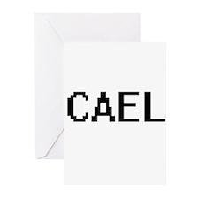 Cael Digital Name Design Greeting Cards