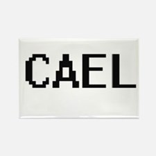 Cael Digital Name Design Magnets