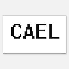 Cael Digital Name Design Decal