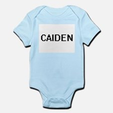 Caiden Digital Name Design Body Suit