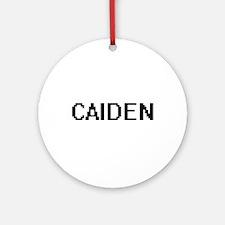 Caiden Digital Name Design Ornament (Round)