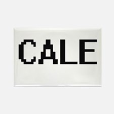 Cale Digital Name Design Magnets