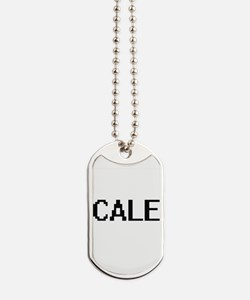 Cale Digital Name Design Dog Tags