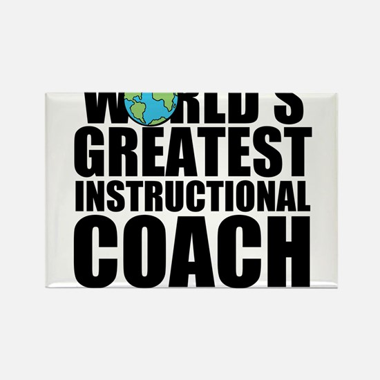 World's Greatest Instructional Coach Magnets