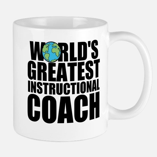World's Greatest Instructional Coach Mugs