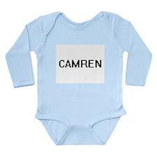 Camren Digital Name Design Body Suit