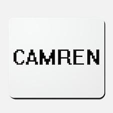 Camren Digital Name Design Mousepad