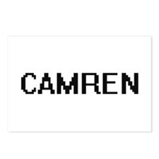 Camren Digital Name Desig Postcards (Package of 8)