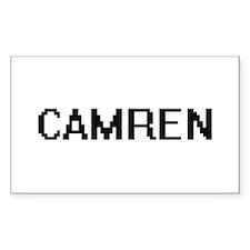 Camren Digital Name Design Decal