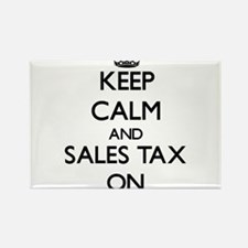 Keep Calm and Sales Tax ON Magnets