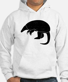 Distressed Armadillo Silhouette Hoodie