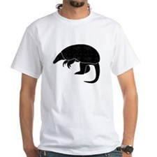 Distressed Armadillo Silhouette T-Shirt