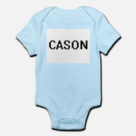 Cason Digital Name Design Body Suit