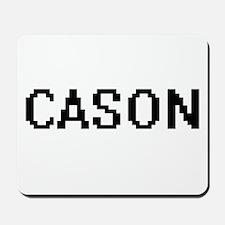 Cason Digital Name Design Mousepad