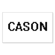 Cason Digital Name Design Decal