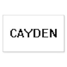 Cayden Digital Name Design Decal