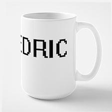 Cedric Digital Name Design Mugs