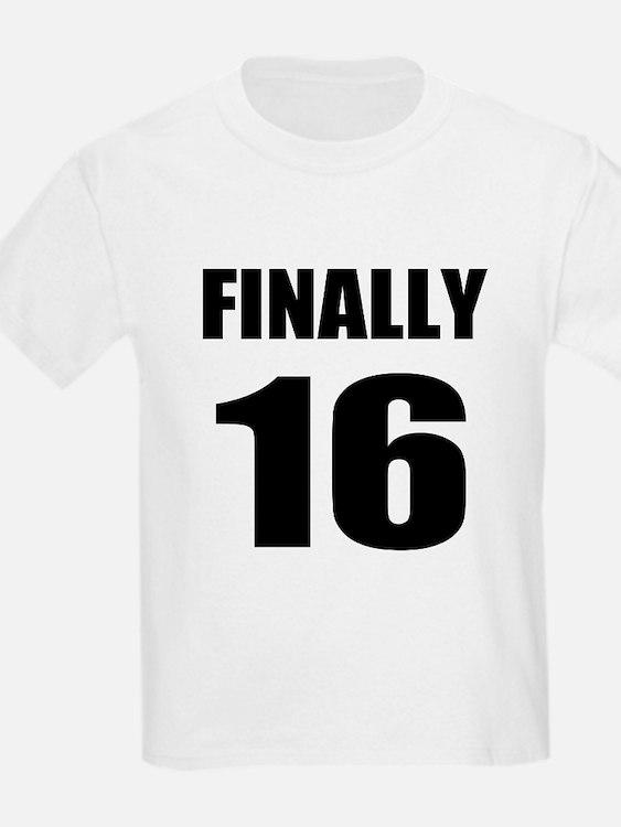 16th Birthday Humor T-Shirt