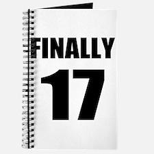 17th Birthday Humor Journal