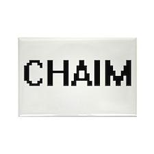 Chaim Digital Name Design Magnets