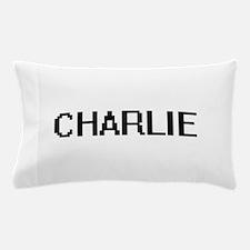 Charlie Digital Name Design Pillow Case
