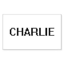 Charlie Digital Name Design Decal