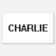 Charlie Digital Name Design Decal