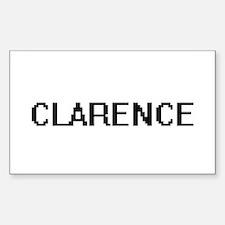 Clarence Digital Name Design Decal