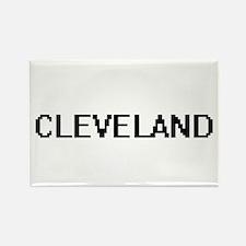 Cleveland Digital Name Design Magnets