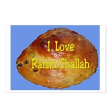 Jewish Love Raisin Challah Postcards (Package of 8