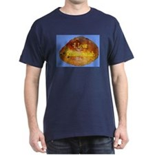 Jewish I Love Raisin Challah T-Shirt