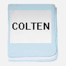 Colten Digital Name Design baby blanket