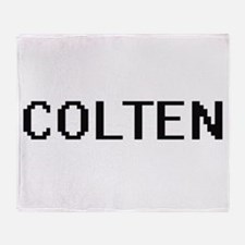 Colten Digital Name Design Throw Blanket