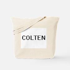 Colten Digital Name Design Tote Bag
