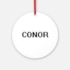 Conor Digital Name Design Ornament (Round)