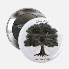 """Tree of Life 2.25"""" Button (10 pack)"""