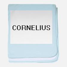 Cornelius Digital Name Design baby blanket